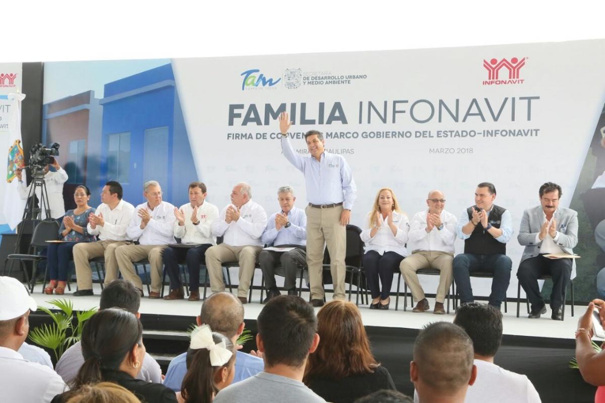Supera Tamaulipas meta de otorgamiento de vivienda