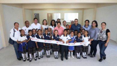 Beneficia gobierno de Tampico a las primarias  Ford 92 y Lucino Gaytán con comedores escolares