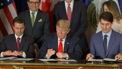 Adiós TLCAN... México, EU y Canadá firman acuerdo comercial T-MEC