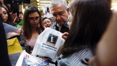 """AMLO: los 40 mil desaparecidos, """"la herencia más dolorosa"""""""