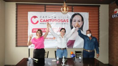 Declina Fuerza por México a favor de Carmen Lilia Canturosas