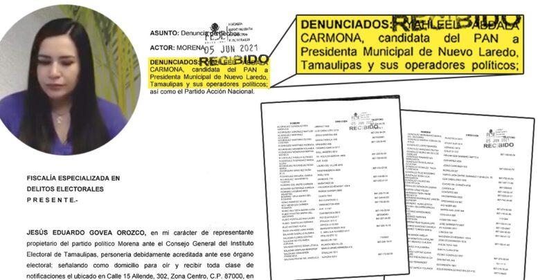 Denuncia Morena a operadores del PAN; FEDE y Guardia Nacional inician pesquisas