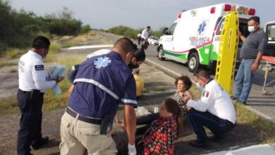 Dos diputadas de Tamaulipas resultan heridas en accidente carretero
