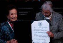 Otorgan la Medalla Belisario Domínguez a Ifigenia Martínez